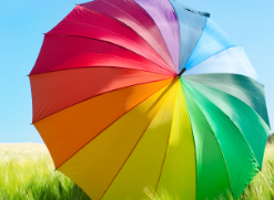 Printsetcolourwheelumbrella